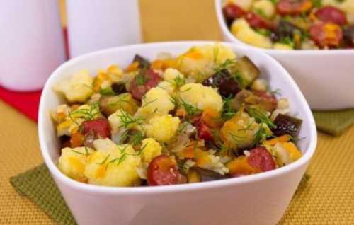 Рецепты тушёной капусты с баклажанами, секреты