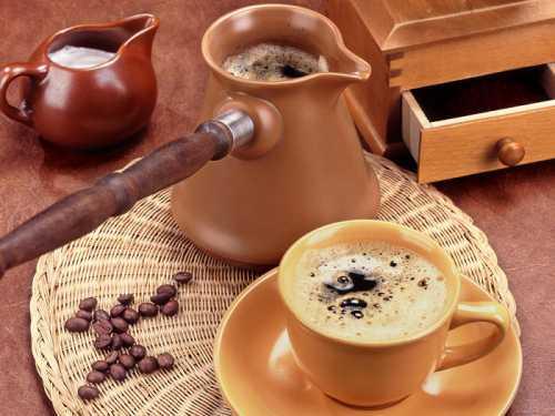 Кофе в турке в домашних условиях