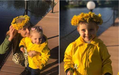 Татьяна Навка устроила семье фотосессию