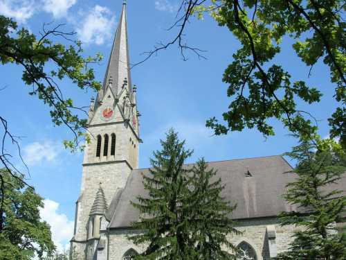 Кафедральный собор Вадуца, Кафедральный собор св Флорина