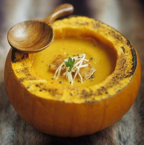 Тыквенный суп от Елены Исинбаевой