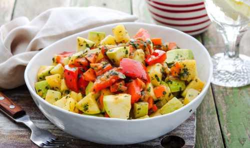Овощное рагу с кабачками и картошкой: рецепт витаминного блюда