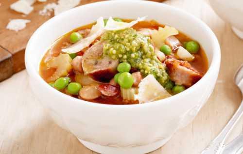 Рецепты супа минестроне, секреты выбора
