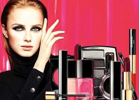 Рождественская коллекция макияжа Шанель 2016 2017
